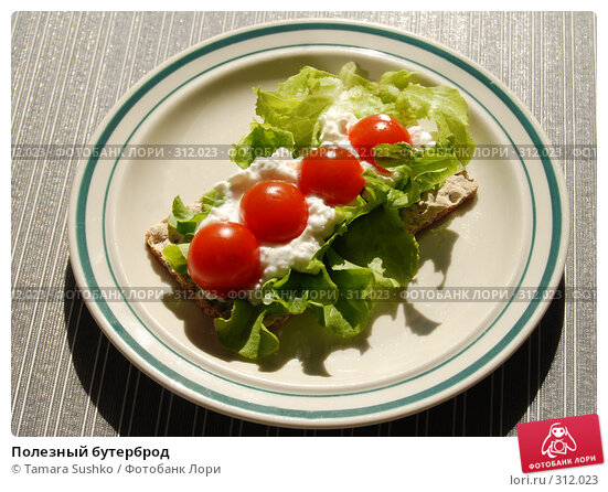 Полезный бутерброд, фото № 312023, снято 31 мая 2008 г. (c) Tamara Sushko / Фотобанк Лори