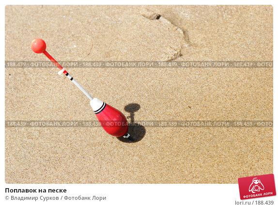 Поплавок на песке, фото № 188439, снято 10 июня 2007 г. (c) Владимир Сурков / Фотобанк Лори