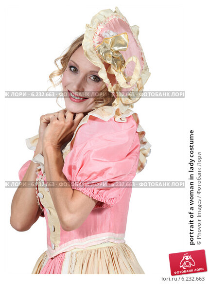 Купить «portrait of a woman in lady costume», фото № 6232663, снято 14 июня 2010 г. (c) Phovoir Images / Фотобанк Лори
