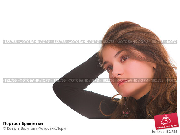 Портрет брюнетки, фото № 182755, снято 2 ноября 2006 г. (c) Коваль Василий / Фотобанк Лори