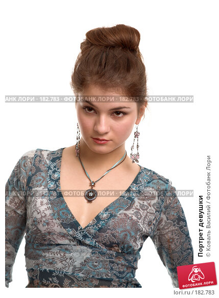 Портрет девушки, фото № 182783, снято 2 ноября 2006 г. (c) Коваль Василий / Фотобанк Лори