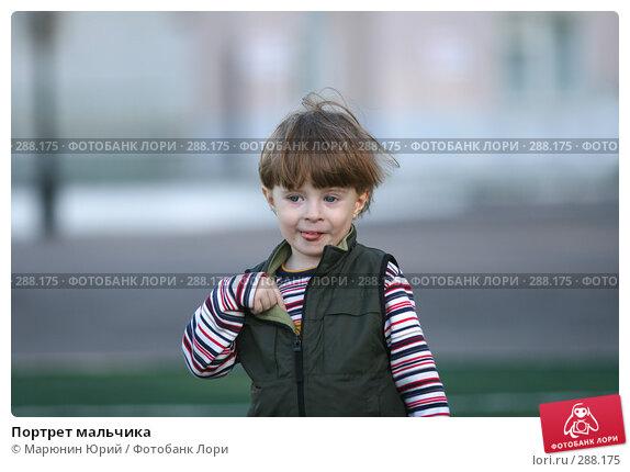 Портрет мальчика, фото № 288175, снято 27 апреля 2008 г. (c) Марюнин Юрий / Фотобанк Лори