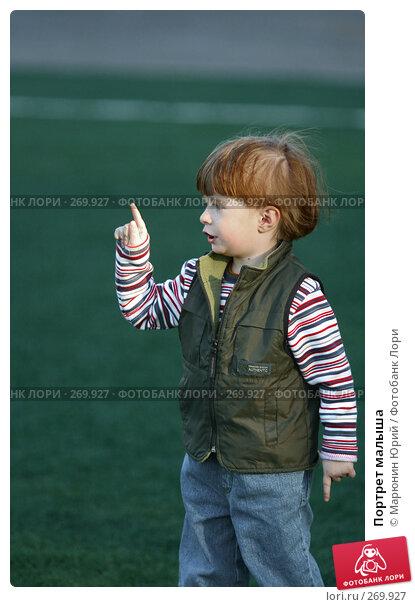 Купить «Портрет малыша», фото № 269927, снято 27 апреля 2008 г. (c) Марюнин Юрий / Фотобанк Лори