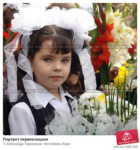 Купить «Портрет первоклашки», фото № 430159, снято 19 июня 2019 г. (c) Александр Тараканов / Фотобанк Лори