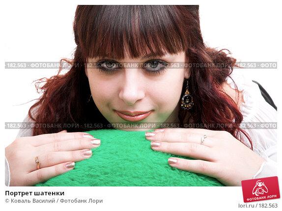Портрет шатенки, фото № 182563, снято 8 декабря 2006 г. (c) Коваль Василий / Фотобанк Лори