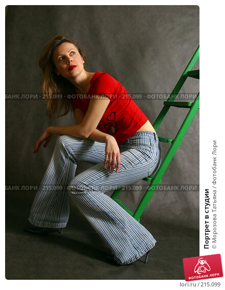 Портрет в студии, фото № 215099, снято 4 мая 2005 г. (c) Морозова Татьяна / Фотобанк Лори