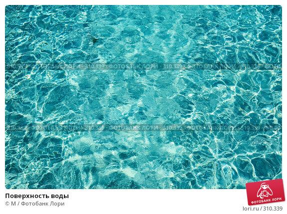 Поверхность воды, фото № 310339, снято 28 мая 2017 г. (c) Михаил / Фотобанк Лори