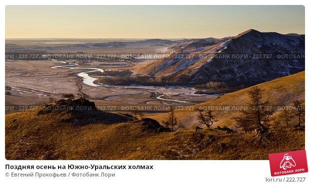 Поздняя осень на Южно-Уральских холмах, фото № 222727, снято 25 ноября 2007 г. (c) Евгений Прокофьев / Фотобанк Лори