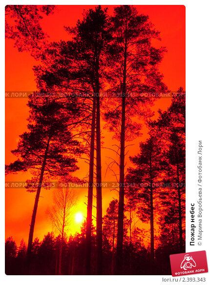 Пожар небес. Стоковое фото, фотограф Марина Воробьева / Фотобанк Лори