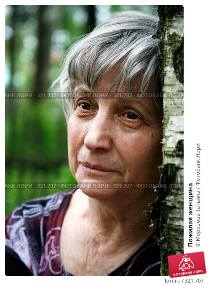 Пожилая женщина, фото № 321707, снято 12 июня 2008 г. (c) Морозова Татьяна / Фотобанк Лори