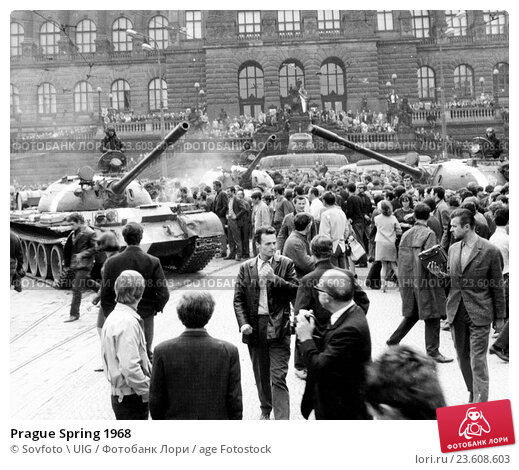 the socialist and imperialist nature of soviets reaction to the hungarian uprising prague spring and
