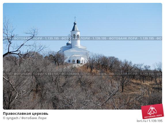 Православная церковь, эксклюзивное фото № 1139195, снято 6 апреля 2009 г. (c) syngach / Фотобанк Лори