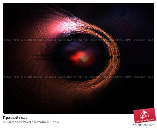 Правый глаз, иллюстрация № 263823 (c) Parmenov Pavel / Фотобанк Лори