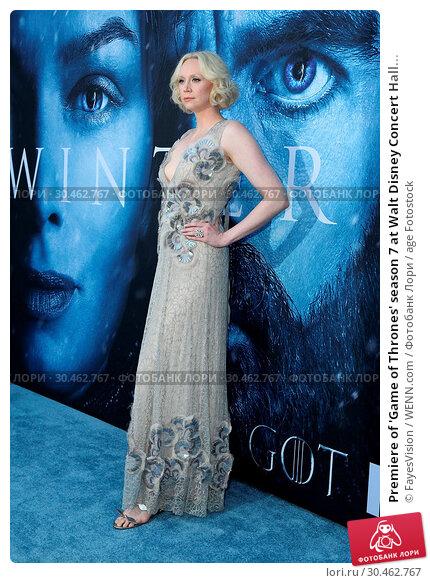 Premiere of 'Game of Thrones' season 7 at Walt Disney Concert Hall... (2017 год). Редакционное фото, фотограф FayesVision / WENN.com / age Fotostock / Фотобанк Лори