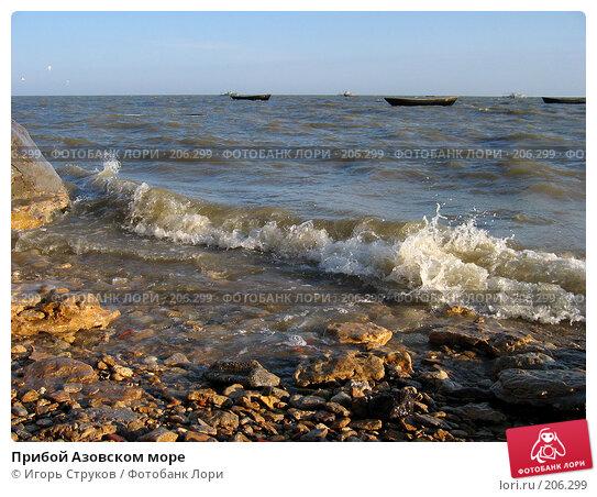 Прибой Азовском море, фото № 206299, снято 16 апреля 2005 г. (c) Игорь Струков / Фотобанк Лори