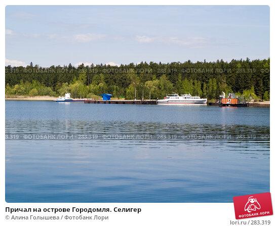 Причал на острове Городомля. Селигер, эксклюзивное фото № 283319, снято 11 мая 2008 г. (c) Алина Голышева / Фотобанк Лори