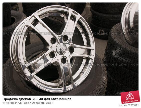 Продажа дисков  и шин для автомобиля, фото № 257011, снято 19 апреля 2008 г. (c) Ирина Игумнова / Фотобанк Лори