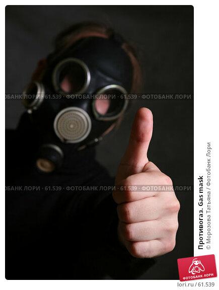 Противогаз. Gas mask, фото № 61539, снято 15 июня 2007 г. (c) Морозова Татьяна / Фотобанк Лори