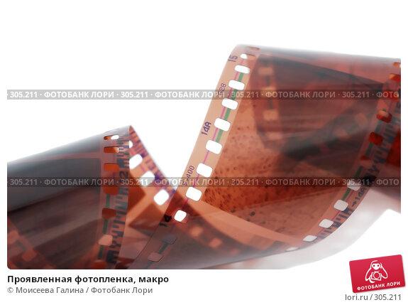 Проявленная фотопленка, макро, фото № 305211, снято 24 мая 2008 г. (c) Моисеева Галина / Фотобанк Лори