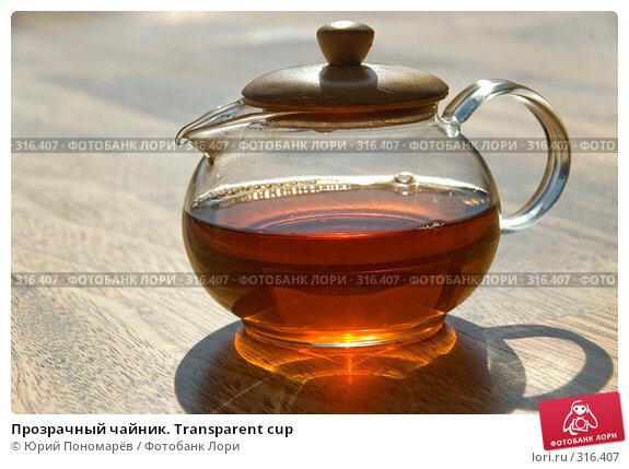 Прозрачный чайник. Transparent cup, фото № 316407, снято 24 марта 2008 г. (c) Юрий Пономарёв / Фотобанк Лори