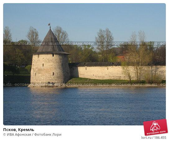 Псков, Кремль, фото № 186455, снято 7 мая 2007 г. (c) ИВА Афонская / Фотобанк Лори
