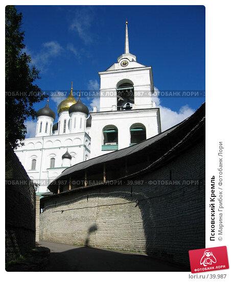 Купить «Псковский Кремль», фото № 39987, снято 13 сентября 2005 г. (c) Марина Грибок / Фотобанк Лори