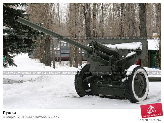 Пушка, фото № 174267, снято 1 декабря 2007 г. (c) Марюнин Юрий / Фотобанк Лори