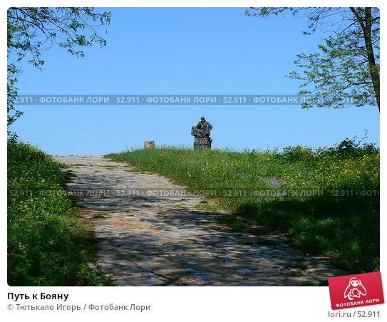 Путь к Бояну, фото № 52911, снято 18 мая 2007 г. (c) Тютькало Игорь / Фотобанк Лори