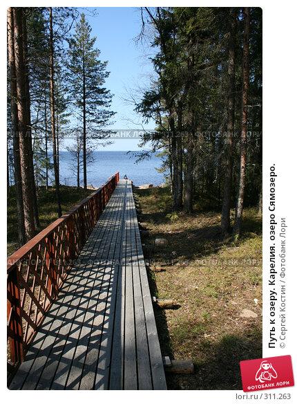 Путь к озеру. Карелия. озеро Сямозеро., фото № 311263, снято 24 мая 2008 г. (c) Сергей Костин / Фотобанк Лори