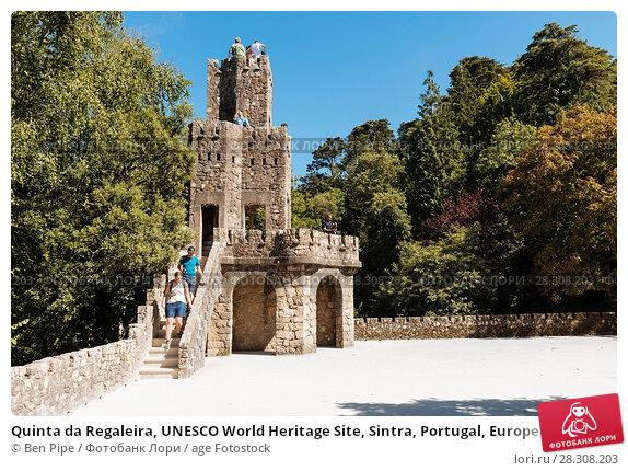 Купить «Quinta da Regaleira, UNESCO World Heritage Site, Sintra, Portugal, Europe», фото № 28308203, снято 30 июля 2017 г. (c) age Fotostock / Фотобанк Лори