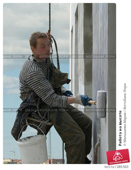 Купить «Работа на высоте», фото № 289563, снято 24 апреля 2018 г. (c) Малышева Мария / Фотобанк Лори