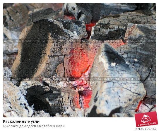 Раскаленные угли, фото № 29167, снято 9 сентября 2005 г. (c) Александр Авдеев / Фотобанк Лори