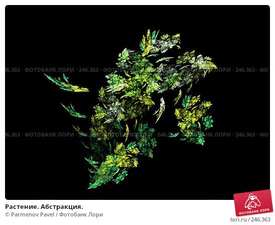 Растение. Абстракция., иллюстрация № 246363 (c) Parmenov Pavel / Фотобанк Лори