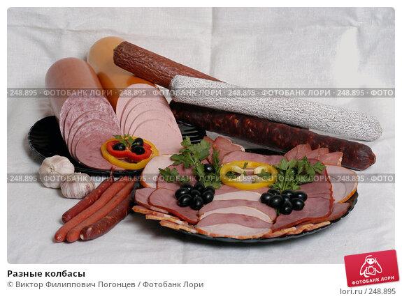 Разные колбасы, фото № 248895, снято 10 сентября 2003 г. (c) Виктор Филиппович Погонцев / Фотобанк Лори