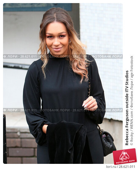 Изображение «Rebecca Ferguson outside ITV Studios Featuring: Rebecca  Ferguson Where: London, United Kingdom When: 23 Nov 2016 Credit: