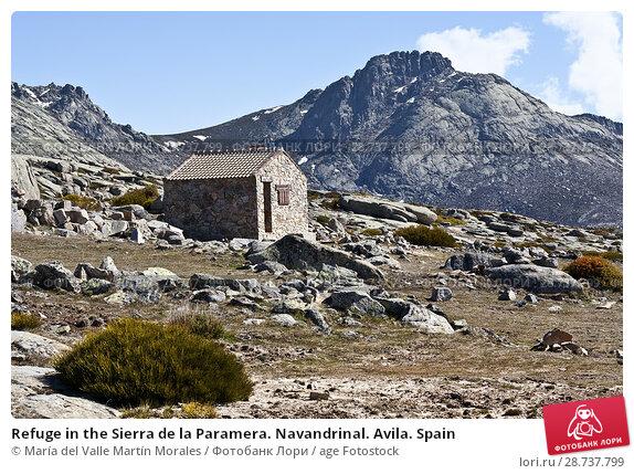 Купить «Refuge in the Sierra de la Paramera. Navandrinal. Avila. Spain», фото № 28737799, снято 29 марта 2018 г. (c) age Fotostock / Фотобанк Лори