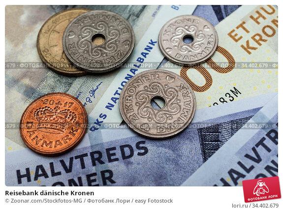 Reisebank dänische Kronen. Стоковое фото, фотограф Zoonar.com/Stockfotos-MG / easy Fotostock / Фотобанк Лори