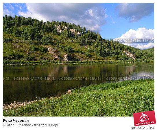 Река Чусовая, фото № 219451, снято 22 февраля 2005 г. (c) Игорь Потапов / Фотобанк Лори