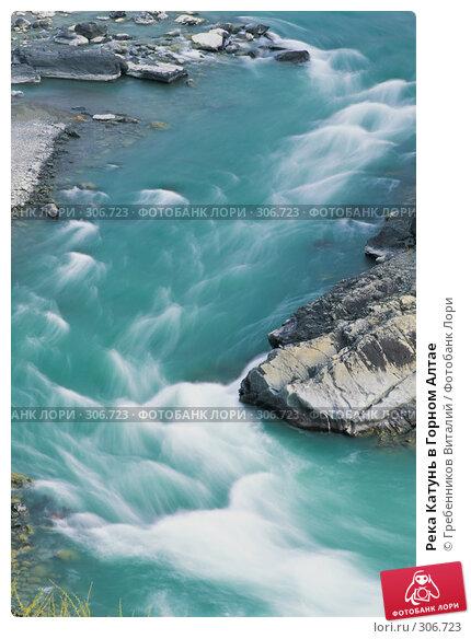 Река Катунь в Горном Алтае, фото № 306723, снято 19 января 2017 г. (c) Гребенников Виталий / Фотобанк Лори