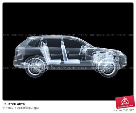 Рентген авто, иллюстрация № 311327 (c) Hemul / Фотобанк Лори