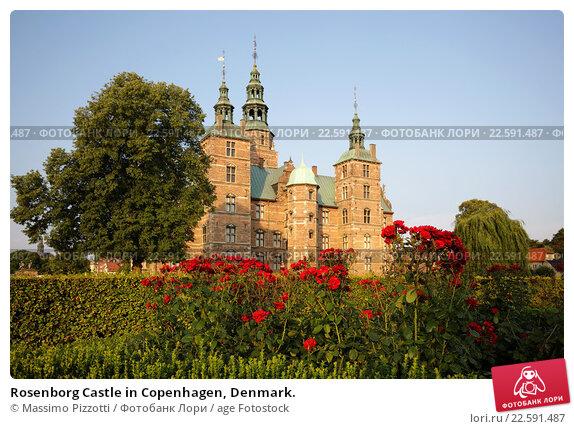 Купить «Rosenborg Castle in Copenhagen, Denmark.», фото № 22591487, снято 15 августа 2015 г. (c) age Fotostock / Фотобанк Лори