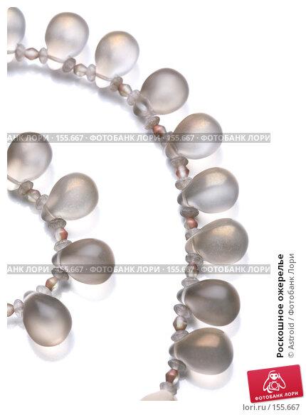 Роскошное ожерелье, фото № 155667, снято 25 ноября 2007 г. (c) Astroid / Фотобанк Лори