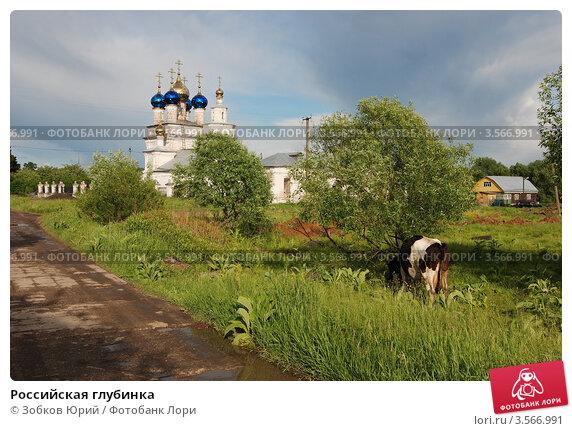 Купить «Российская глубинка», фото № 3566991, снято 3 июня 2012 г. (c) Зобков Георгий / Фотобанк Лори