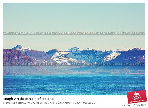 Rough Arctic terrain of Iceland. Стоковое фото, фотограф Zoonar.com/Galyna Andrushko / easy Fotostock / Фотобанк Лори