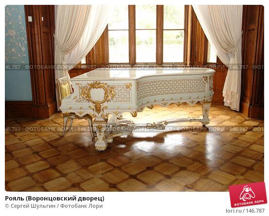 Купить «Рояль (Воронцовский дворец)», фото № 146787, снято 8 апреля 2007 г. (c) Сергей Шульгин / Фотобанк Лори