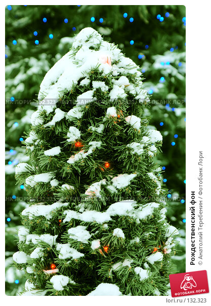 Рождественский фон, фото № 132323, снято 28 ноября 2007 г. (c) Анатолий Теребенин / Фотобанк Лори
