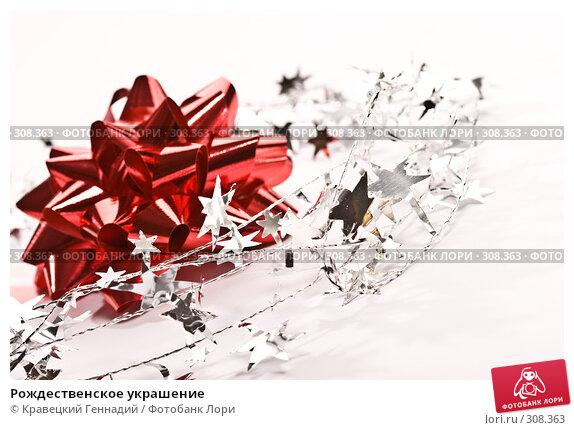 Рождественское украшение, фото № 308363, снято 19 октября 2005 г. (c) Кравецкий Геннадий / Фотобанк Лори