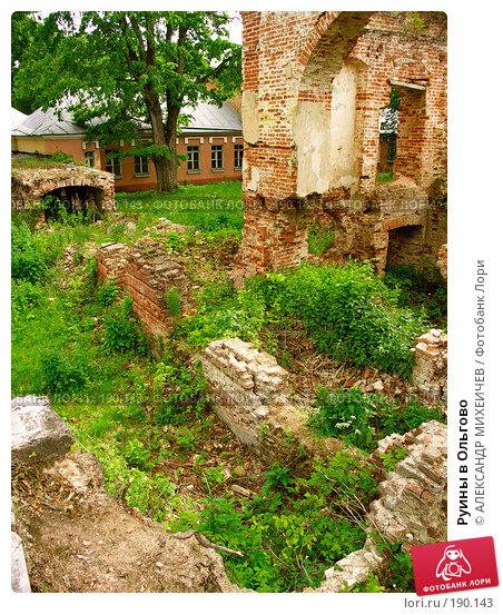 Руины в Ольгово, фото № 190143, снято 17 июня 2006 г. (c) АЛЕКСАНДР МИХЕИЧЕВ / Фотобанк Лори