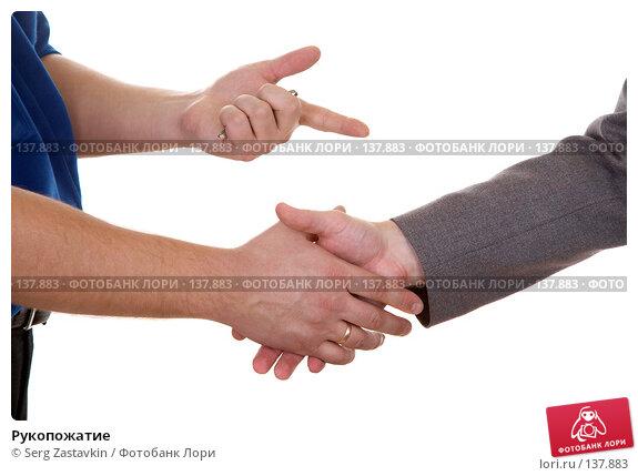 Рукопожатие, фото № 137883, снято 15 декабря 2006 г. (c) Serg Zastavkin / Фотобанк Лори