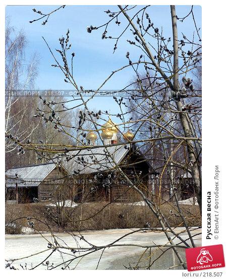 Русская весна, фото № 218507, снято 27 февраля 2017 г. (c) ElenArt / Фотобанк Лори
